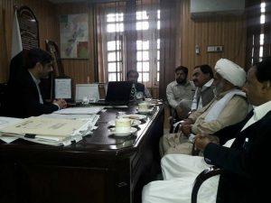 شیعہ علماء کونسل پاکستان کے وفدکی کمشنر ڈیرہ اسماعیل خان سے ملاقات