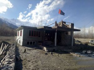 اسکردو : قائد ملت جعفریہ پاکستان کی جانب سے سیلاب متاثرین کے لئے مکانات کی تعمیر جاری۔