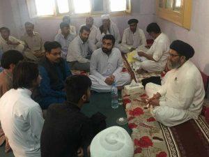 پشاور قائد ملت جعفریہ پاکستان سے طلباء کے وفد کی ملاقات