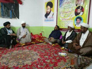 شیعہ علماء کونسل پاکستان کے رہنما حسنین مہدی کا دفتر قائد ملت جعفریہ نجف اچرف کا دورہ