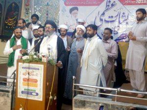 ٹیکسلا : منبر حسینی سے خرافات کسی صورت قابل قبول نہیں قائد ملت جعفریہ پاکستان