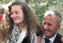 اسرائیلی فوجی کو تھپڑ مارنے والی فلسطینی لڑکی رہا