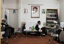 حوزہ علمیہ کے فاضل طلباء کے وفد کی قائد ملت جعفریہ علامہ ساجد نقوی سے ملاقات