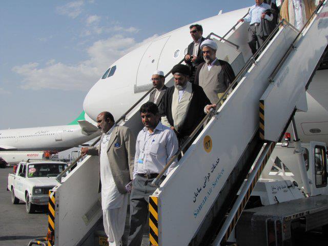 قائد ملت جعفریہ پاکستان آیت اللہ سید ساجد علی نقوی مشہد مقدس پہنچ گئے