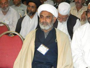 علامہ محمد رمضان توقیر مرکزی نائب صدر ۔ اسلامی تحریک پاکستان