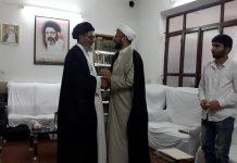 ایران :حرم امام رضا علیہ امور زائرین کے سربراہ کی علامہ ساجد علی نقوی سے ملاقات