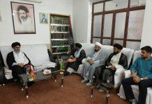 حوزہ علمیہ قم کے پاکستانی فضلاء کے وفد کی قائد ملت جعفریہ پاکستان حضرت آیت اللہ علامہ سید ساجد علی نقوی حفظہ اللہ سے ملاقات