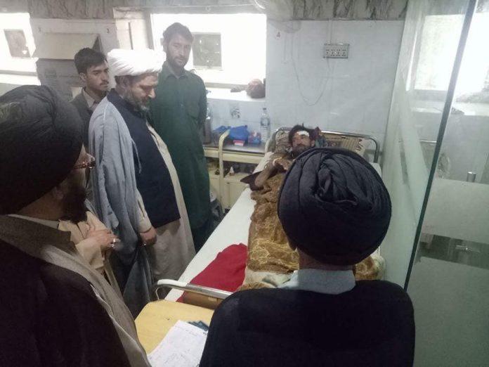 اسلامی تحریک گلگت بلتستان کے وفد کا اسکردو اسپتال کا دورہ