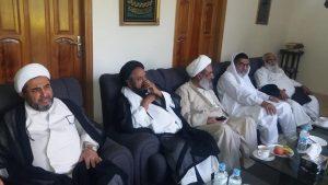 قائد ملت جعفریہ پاکستان آیت اللہ سید ساجد علی نقوی سے علماء کرام کی اہم ملاقات