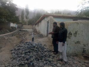 اسکردو میں اسلامی تحریک پاکستان کے تعاون سے روڈ کی تعمیر
