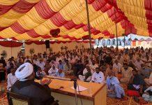 سرگودھا:جامعہ سلطان المدارس کے جلسہ میں علامہ عارف حسین واحدی نے شرکت اورخطاب کیا۔
