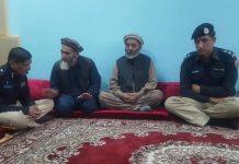 اسلامی تحریک پاکستان کے رہنما دیدار علی کی شہید پولیس اہلکار کے اہل خانہ سے تعزیت