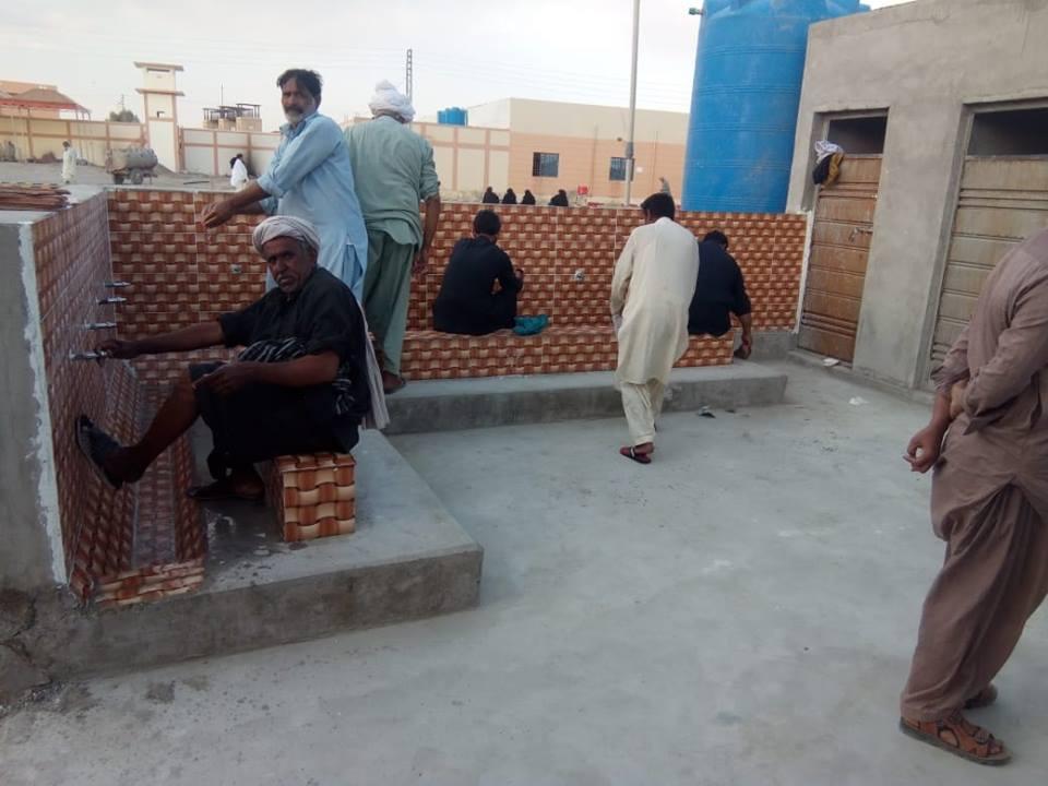 قائد ملت جعفریہ کی جانب سے تفتان بارڈر پر زائرین کی سہولت کے لئے تعمیرات مکمل