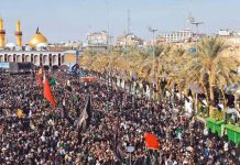 اربعین امام حسینؑ لاکھوں افراد کربلا پہنچنا شروع