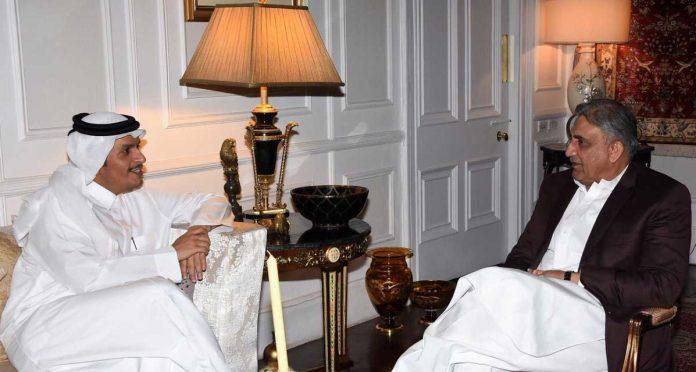 آرمی چیف جنرل قمرجاوید باجوہ سے قطری نائب وزیراعظم کی ملاقات