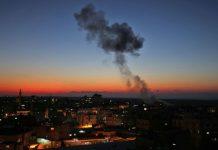 غزہ پر اسرائیل کے جنگی طیاروں کے حملے میں 5 فلسطینی شہید