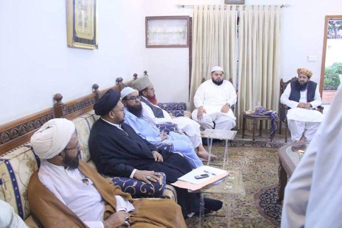 شیعہ علماء کونسل پاکستان سندھ کے وفد کی متحدہ مجلس عمل کے اجلاس میں شرکت
