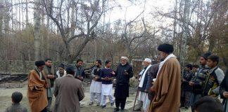 اسلامی تحریک پاکستان گلگت بلتستان کے وفد کا محلہ گونگمہ منگر کا دورہ