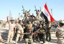 عراق اور شام کی سرحدوں پر امن بحال