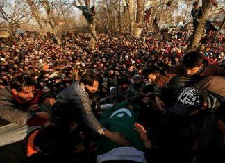 مقبوضہ کشمیر میں بھارتی فوجیوں کی ریاستی دہشت گردی جاریمقبوضہ کشمیر میں بھارتی فوجیوں کی ریاستی دہشت گردی جاری