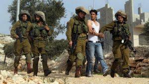 غرب اردن میں دسیوں فلسطینیوں کی گرفتاری