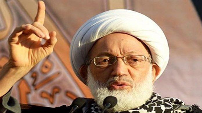 بحرینی قوم آیت اللہ شیخ عیسی قاسم کے ساتھ ہے، جمعیت الوفاق