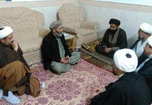 اسلامی تحریک پاکستان کے رہنما دیدار علی سے دفتر قائد ملت جعفریہ قم کے وفد کی ملاقات