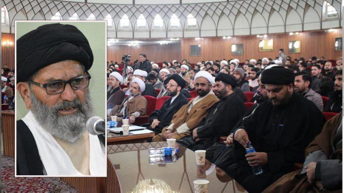 علامہ شیخ غلام محمد اور علامہ شہید سید ضیاء الدین کی یاد میں منعقدہ کانفرنس لائق قدردانی ہے