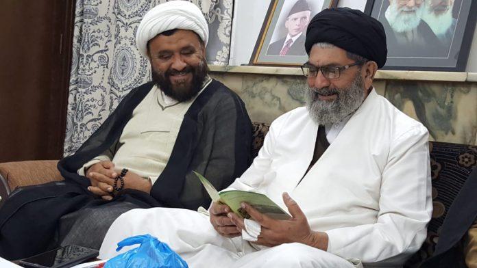 قائد ملت جعفریہ پاکستان سے شیعہ علماء کونسل خیبر پختونخواہ کے وفد کی ملاقات
