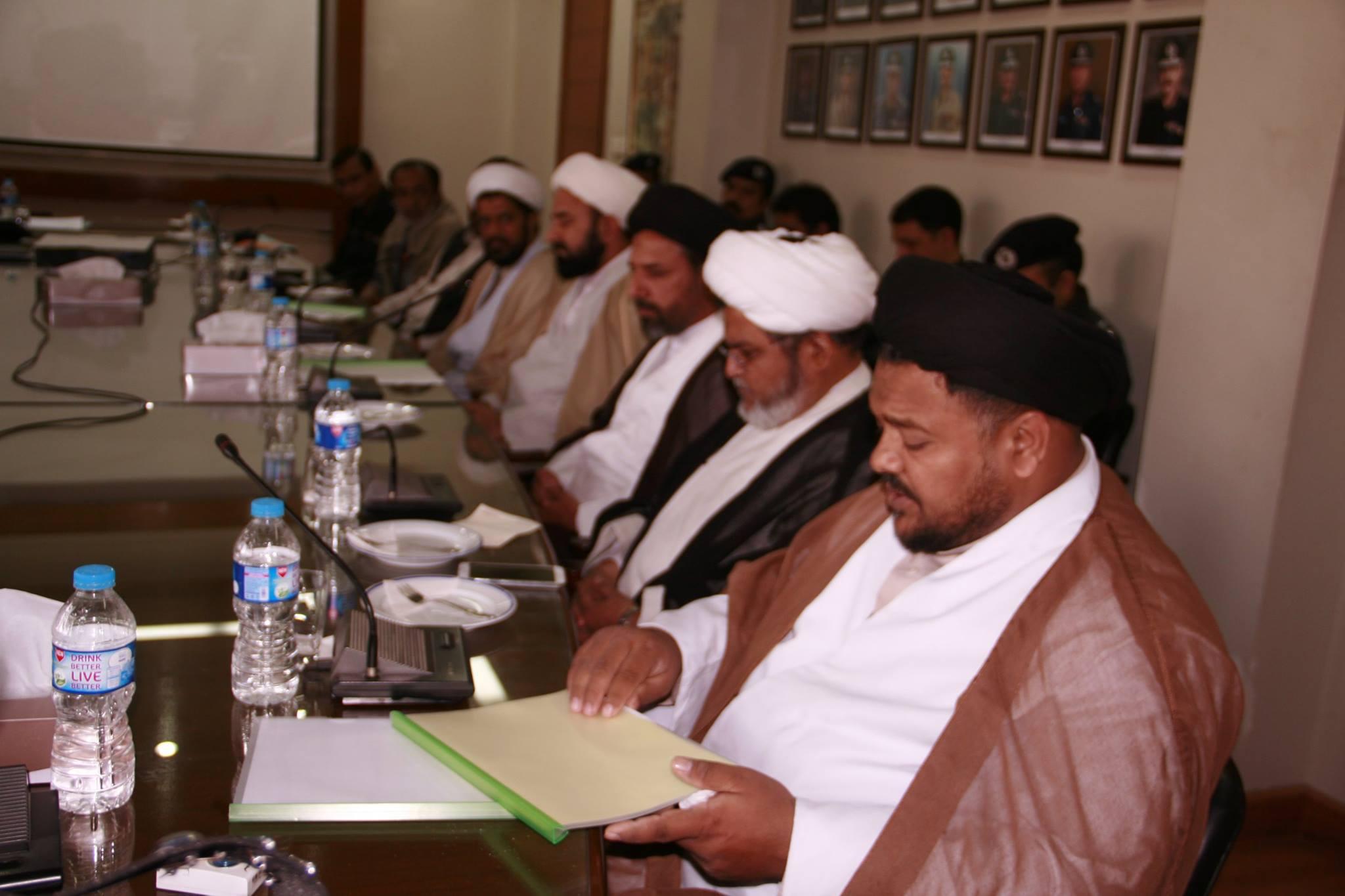 علامہ سید ناظر عباس تقوی صدر شیعہ علماء کونسل سندھ