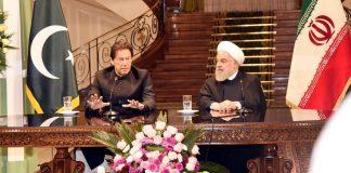 وزیر اعظم عمران خان اور ایرانی صدر حسن روحانی