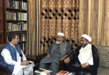 علامہ عارف واحدی کی امیر جماعت اسلامی اور جناب ثاقب اکبر سے ملاقات