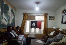 پاکستان ایجوکیشنل کونسل کے ڈائریکٹر مظہر علی خان و علامہ فرحت جوادی کی اسکردو پہنچے