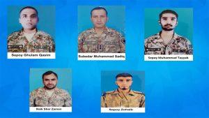 ایل اوسی کے سب سیکٹر میں بارودی مواد کا دھماکہ, 5جوان شہید شیعہ علماء کونسل پاکستان کی مذمت