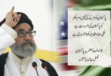 پاکستان کو امریکہ کی نہیں امریکنز کو پاکستان کی ضرورت ہے ،ملکی مفاد مقدم رکھنا ضروری ہے