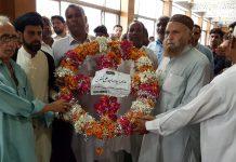 شیعہ علماء کونسل پاکستانخیبرپختونخواہ کے وفد کی شہید علامہ عارف حسینی کے مزار پر حاضری