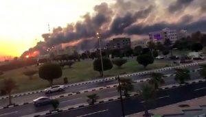سعودی تیل کمپنی آرامکوپر ڈرون حملہ