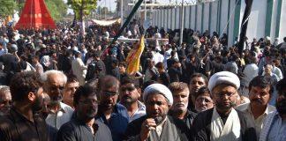 عزاداری سید الشہداءمیں رکاوٹیں برداشت نہیں،علامہ عارف واحدی شیعہ علماء کونسل پاکستان