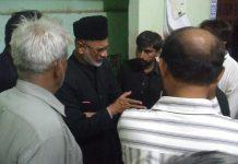 شیعہ علماء کونسل کراچی ڈویژن کا وفد نارتھ کراچی پہنچ گیا عزاداری میں رکاوٹ قبول نہیں