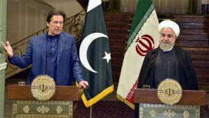 وزیراعظم عمران خان اور ایرانی صدر حسن روحانی کی مشترکہ نیوز کانفرنس