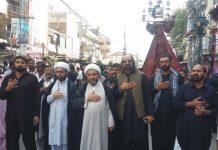 نواسہ رسول امام حسین ؑنے عظیم قربانی دیکر انسانیت کو بچایا، علامہ عارف واحدی