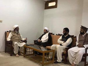 علامہ عارف واحدی کی شیخ محسن نجفی سے ملاقات
