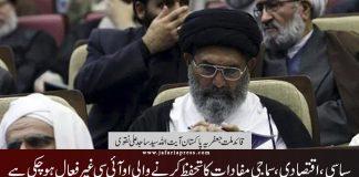 سیاسی، اقتصادی، سماجی مفادات کا تحفظ کرنےوالی او آئی سی غیر فعال ہوچکی قائد ملت جعفریہ پاکستان علامہ ساجد نقوی