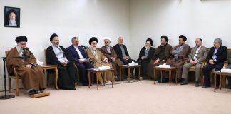 رہبر انقلاب اسلامی آیت اللہ العظمی سید علی خامنہ ای نے حج کے موقع پر اسلامی جمہوری نظام کے رول ماڈل کو دنیا کے سامنے اجاگر کرنے کی ضرورت پر تاکید فرمائی ہے۔