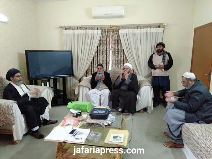 قائد ملت جعفریہ پاکستان آیت اللہ سید ساجد علی نقوی سے چیئرمین ہدایت ٹی وی کی ملاقات