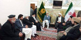 ملی یکجہتی کونسل پاکستان کے وفد کی آیت اللہ عالم الہدی سے ملاقات