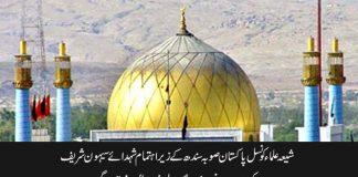 برسی شہدائے سیہون 16 فروری کو درگاہ لال شہباز قلندر پر منعقد ہوگی شیعہ علماء کونسل پاکستان صوبہ سندھ