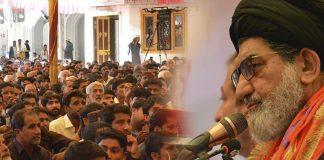 قیادت کی اطاعت سے ہی قوم ترقی کرے گی علامہ سید تقی شاہ نقوی کا ہزاروں افراد ے اجتماع سے خطاب
