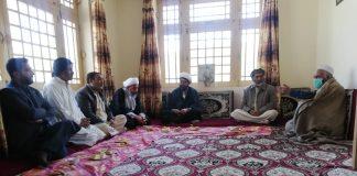 اسلامی تحریک پاکستان کے وفد کی صدر انجمن امایہ بلتستان آغا محمد باقر الحسینی سے ملاقات