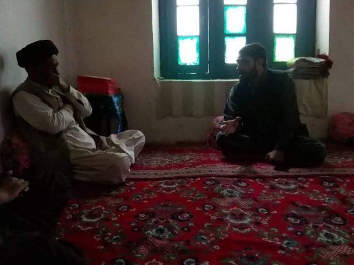 اسلامیتحریک پاکستان گلگت بلتستان کے صدر آغا عباس رضوی سے کیپٹن سکندر علی کی ملاقات